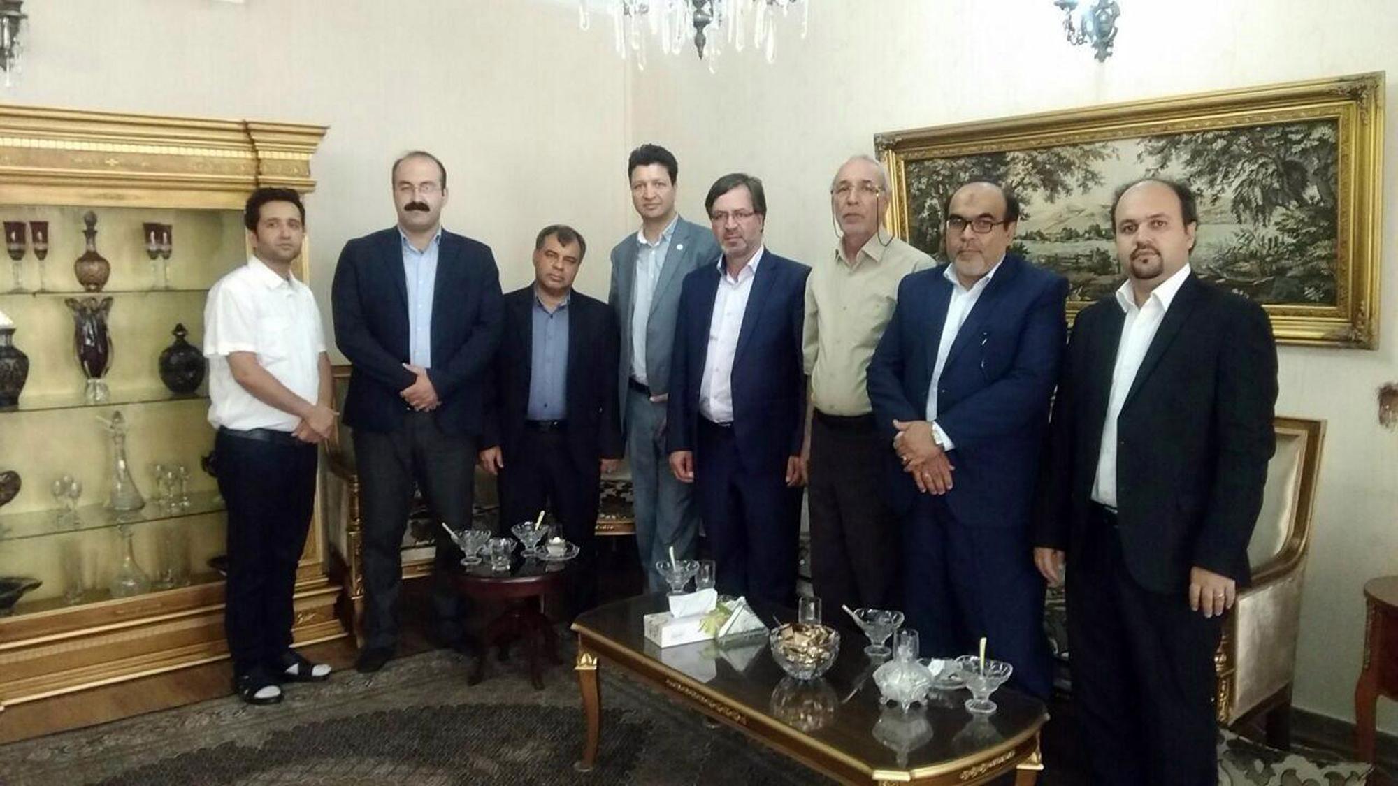 دیدار هيات مدیره كانون با تعدادي از سادات سردفتر و دفتريار